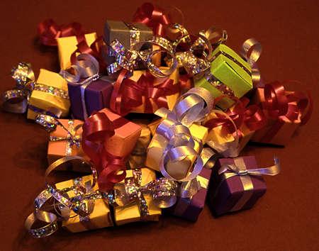 Natale gifts1 Archivio Fotografico