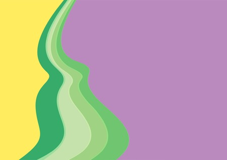 yelow: A violet- and -yelow- lines background, made at adobe illustrator x4.  Illustration
