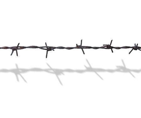 barbed wire Zdjęcie Seryjne