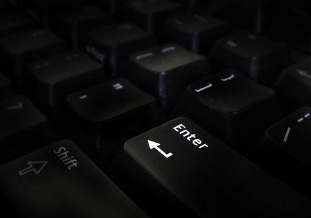 activate: enter