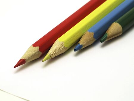 multiplicity: colors pencil Stock Photo