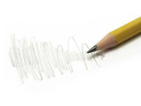 doodling z ołówkiem