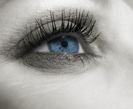 Blue eye Zdjęcie Seryjne