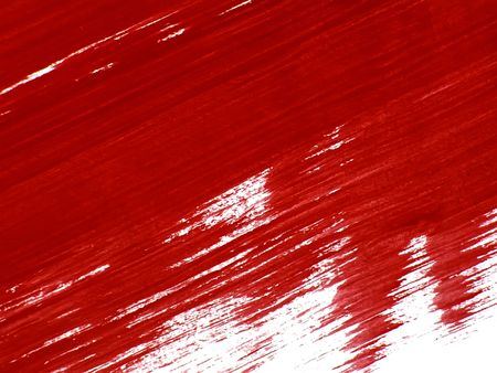 serie: Red paint Stock Photo