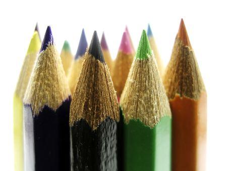 coloured pencils photo