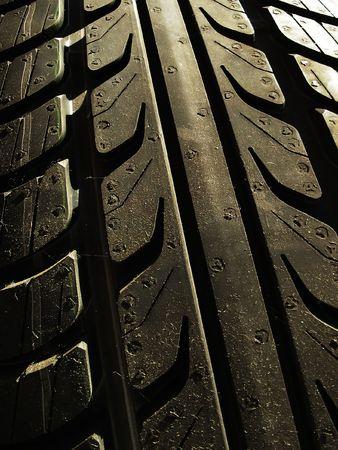 new tyre Zdjęcie Seryjne