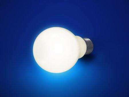 Bulb Lights Up