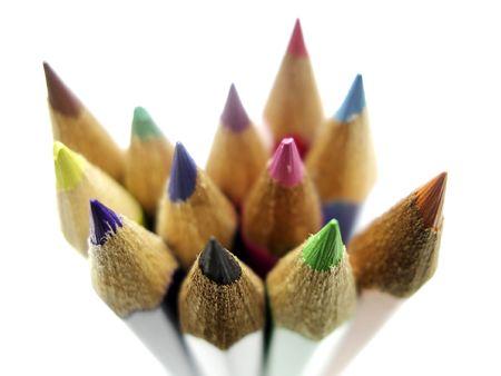coloured pencils Zdjęcie Seryjne