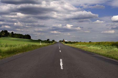 The road Zdjęcie Seryjne