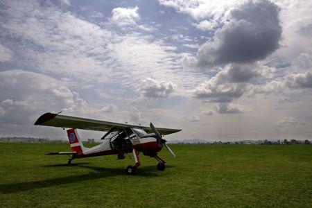 Samoloty i chmury