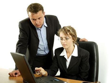 communicates: At work