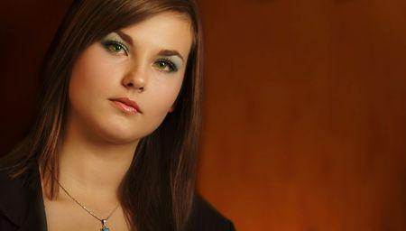 Portrait of a pretty woman Zdjęcie Seryjne - 643441