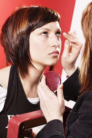 Cosmetic studio. Cut, combing, arrangement...
