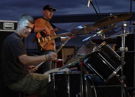 Rock and Roll night concert Zdjęcie Seryjne - 2047147