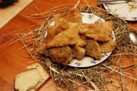 Wigilia Bożego Narodzenia - tradycyjnej żywności