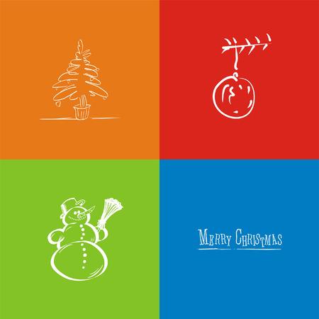 This is a christmas card Zdjęcie Seryjne - 2155849