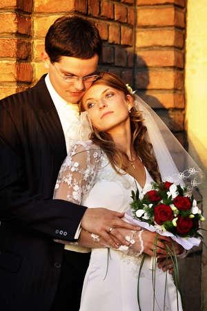 Romantic wedding couple. Photo session Stock Photo - 2257109