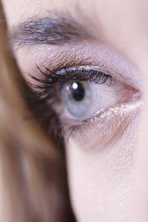 Eye - kobiety stosujące uzupełnić
