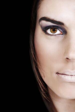 Portrait of a pretty woman