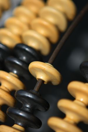 flee: Old abacus in the flee market