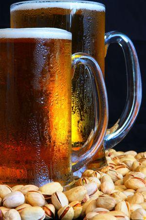 Beer mug on the table Stock Photo - 3353848