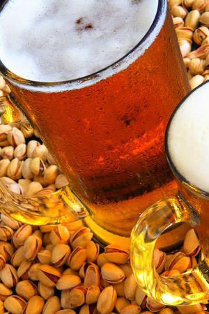 Beer mug on the table Stock Photo - 3353885