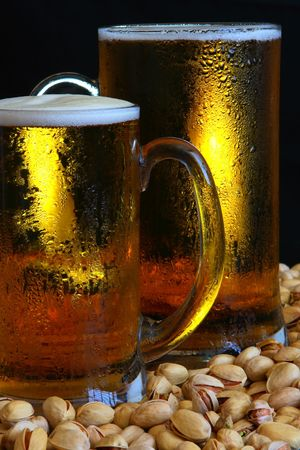 Beer mug on the table Stock Photo - 3353887