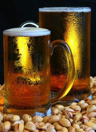 Beer mug on the table Stock Photo - 3353884