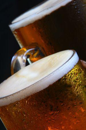 Beer mug on the table Stock Photo - 3353835