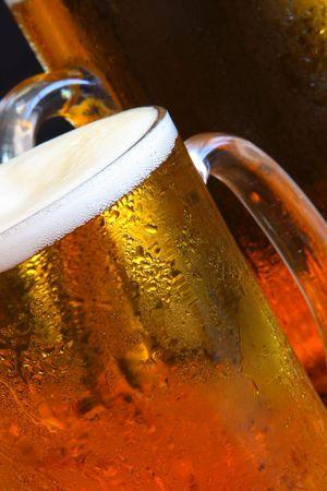 Beer mug on the table Stock Photo - 3353837
