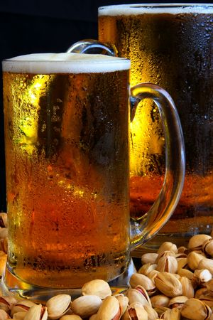 Beer mug on the table Stock Photo - 3353886