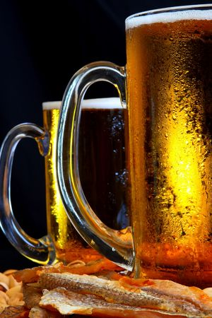 Beer mug on the table Stock Photo - 3353847