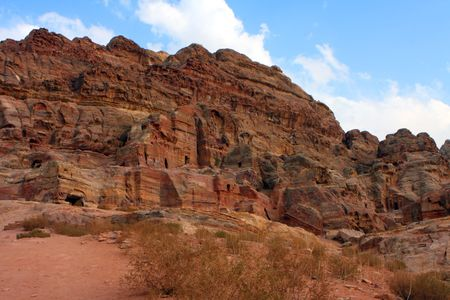roman soldiers: Roman soldiers tomb in Petra, Jordan