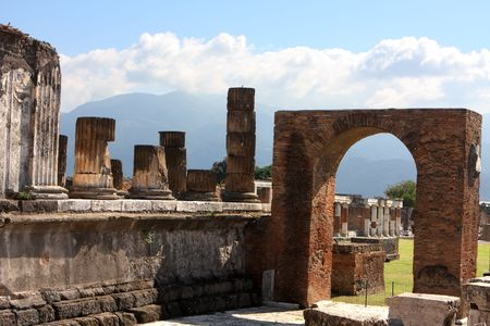 pompeii: Pompeii roman house Stock Photo