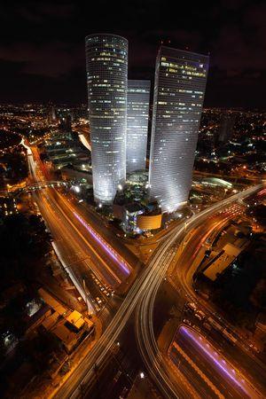 azrieli tower: Skyscrapers in the center of Tel Aviv