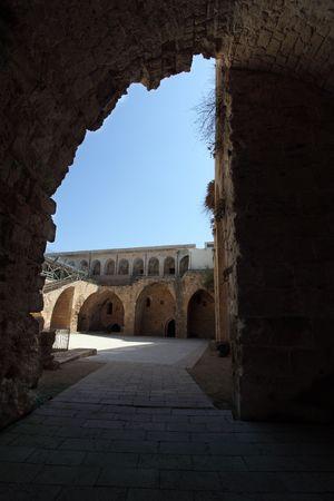 acre: Acre knight templar castle, Israel