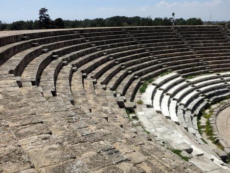 amphitheatre: Salamis ancient amphitheatre, Cyprus