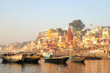 February 11, 2006: Holy city of Varanasi, also known as Benares or Kashi. Its the oldest city in India.