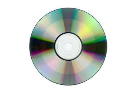 CD-ROM on white background with cipping path.