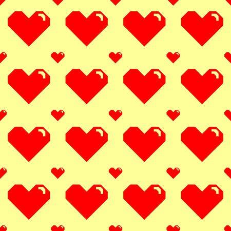 Love Seamless Pattern Illustration