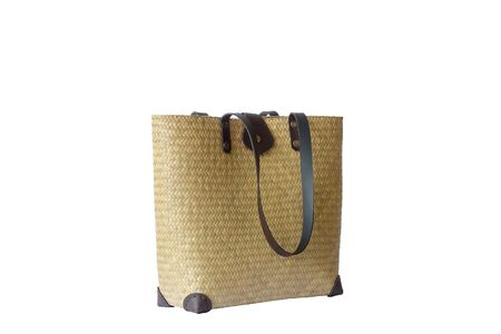 Lepironia articalata (Krajood) or Sedge handmade bag.