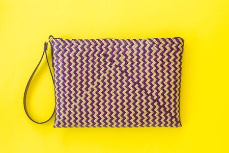 Lepironia articalata (Krajood) or Sedge handmade bag.