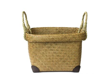 Lepironia articulata (Krajood) basket or Sedge handmade bag.