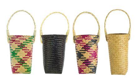 Lepironia articalata (Krajood) or Sedge handmade bag for  storage bag.