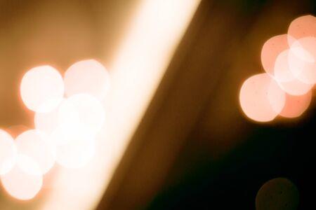 Beautiful bokeh Lights blurred background.