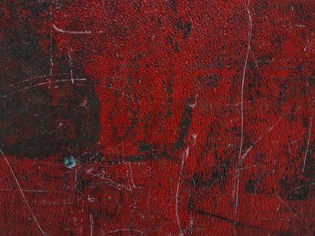 Grunge of red wall background texture. Archivio Fotografico