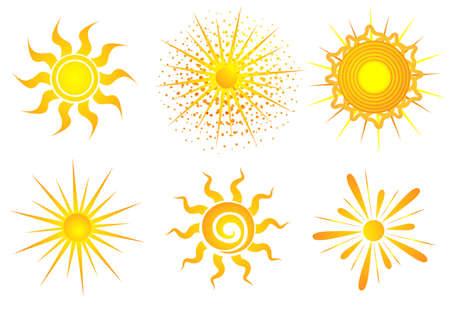 bright: Illustration of bright sun Illustration