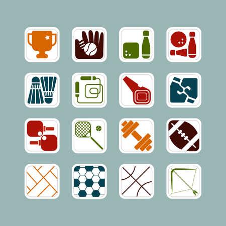 kinds: Different kinds of sports symbols