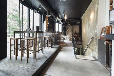 Treppen im Restaurant Interieur