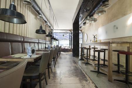 pult: restaurant interior